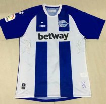 19-20 Thai Quality adult Deportivo Alaves Soccer jersey football shirt