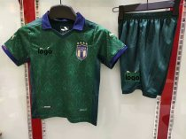 19-20 Children Italy 3rd away soccer uniforms football kits