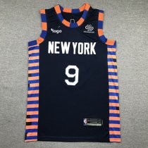 2019-20 Men Knicks basketball jersey shirt Barrett 9 blue
