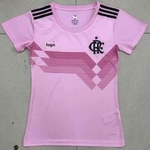 19/20 Women Thai Quality Flamengo pink football jersey soccer shirt
