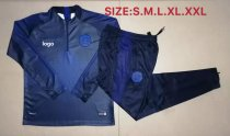 19/20 Adult jacket Chelsea Royal blue soccer tracksuit