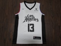 19-20 Men Clippers basketball jersey shirt George 13 white