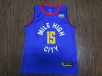 19-20 Adult Nuggets basketball jersey shirt Jokic 15 Colorful blue