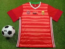 19-20 Thai Quality European Cup adult Hungary home long sleeve soccer jersey football shirt