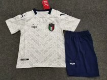 19-20 Children European Cup Italy away soccer uniforms football kits