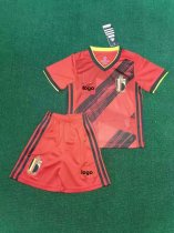 2019-20 Children European Cup Belgian home soccer uniforms football kits