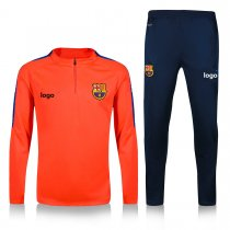 2019-20 Adult jacket Barcelona orange soccer tracksuit
