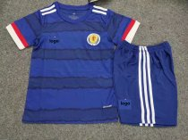 19-20 Children European Cup Scotland soccer uniforms football kits