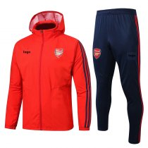 2019-20 Adult Arsenal Wind breaker red soccer jersey football shirt
