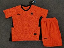 19-20 Children Netherlands home soccer uniforms football kits