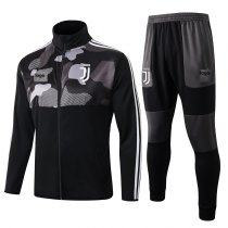 2019/20 Adult Juventus black jacket soccer uniforms football kits