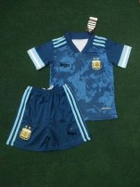 2019-20 Children Argentina soccer uniforms football kits