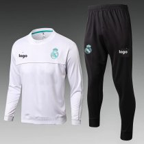 2019-20 Adult jacket real madrid white soccer tracksuit