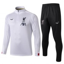 19-20 Adult jacket Liverpool white soccer tracksuit