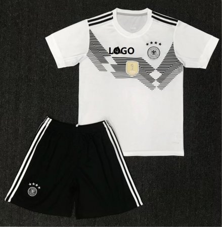A Qualtiy Adult Germany Soccer Jersey Uniforms Man Trainning Sport Tracksuit Top+Short National Team