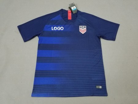 18-19 American Away Soccer Jersey -Thai Quality