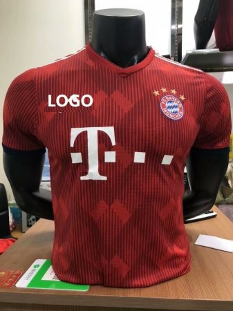 18/19 Men Bayern Player Version Soccer Jersey