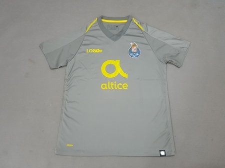 18-19 Porto away grey Soccer Jersey -Thai Quality