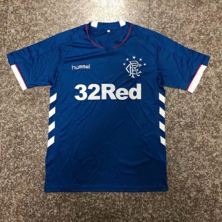 18-19  Rangers Away Soccer Jersey Football Shirt Custom Name And Number