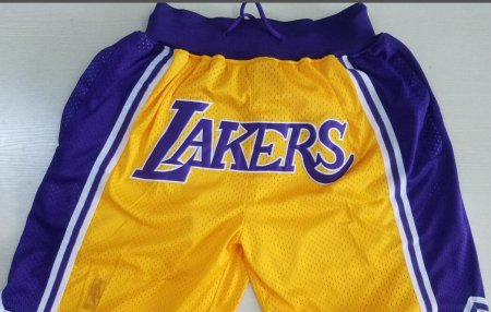 2018 Adult Lakers Basketball Short