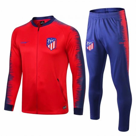 18/19 Athletic Madrid Red Soccer Jacket Mens Jacket Coat Tracksuit