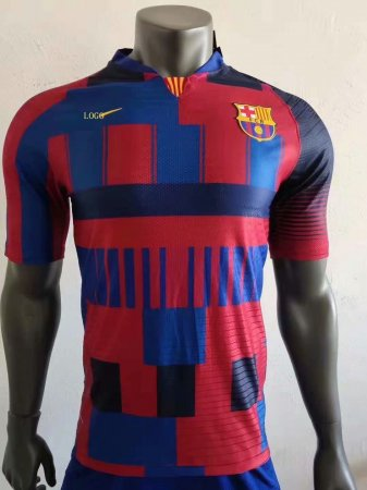 2018-19 Barcelona 20-Years Anniversary Jersey Shirt