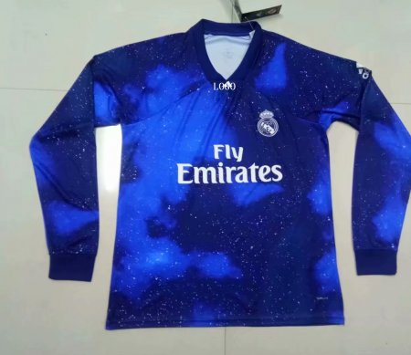 2018/19  Adult Real Madrid EA Sports long sleeve soccer jersey football shirt