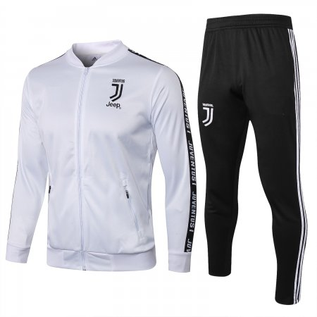 2018/19 Juventus White Soccer Jacket Adult Football Trainning Suits