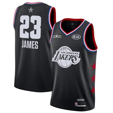 2019/20 Adult All-Star Rookie Jersey Los Angeles lakers JAMES 23 balck basketball shirt