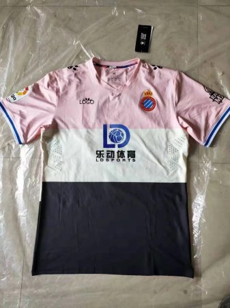 19-20 Adult Espanyol third pink soccer jersey