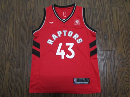 19-20 Adult Toronto Raptors basketball jersey shirt Siakam 43 red