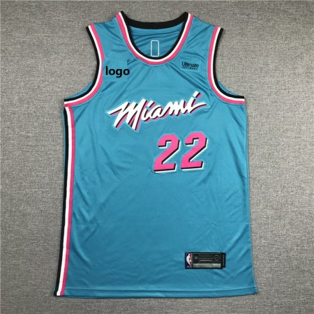 2019-20 Adult heats basketball jersey shirt Butler 22 Sky Blue