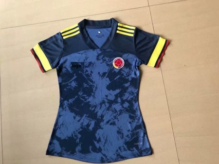 19-20 Women Thai Quality Colombia away football jersey soccer shirt