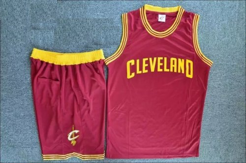sports shoes c13e8 76d39 Men's Cleveland Cavaliers Kevin Red Love Jersey Uniforms Adult Basketball  Kits Custom Name And Number