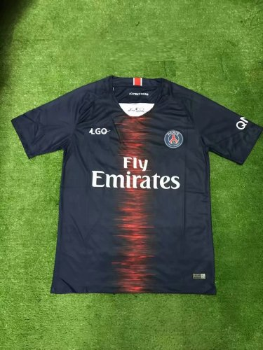 best website b9cf7 ad4b2 2018/19 Adult Cheap PSG Home Soccer Jersey Men Football Shirt Custom Name  And number uniforme de fútbol