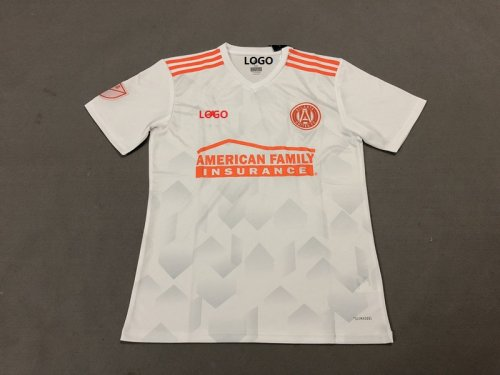 get cheap c1973 6eddb 18-19 Men Atlanta United FC Away white Soccer Jersey -Thai Quality