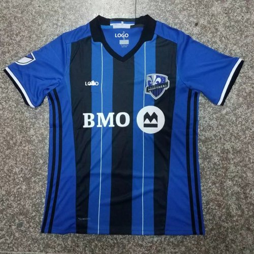 super popular 24850 418df 18-19 Men Montreal Impact Home Blue Soccer Jersey -Thai Quality