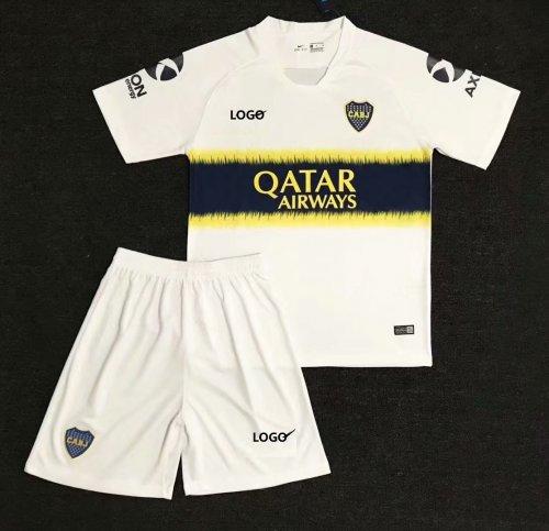 on sale 14abf cca85 2018/19 Adult Club Atlético Boca Juniors Away White Soccer Jersey Uniforms  Men Cheap Football Kits Wholesale