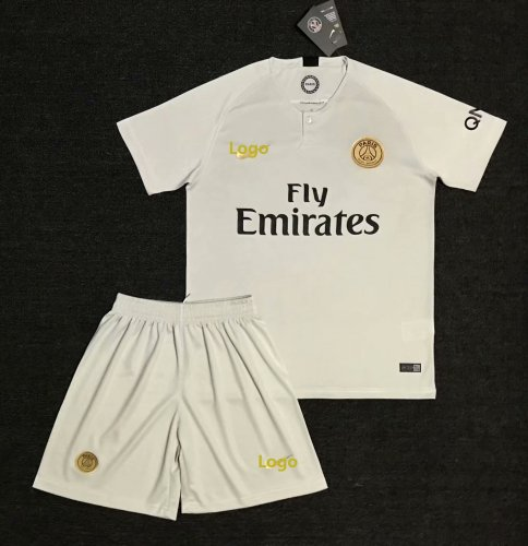 check out fe650 13305 2018/19 Men White PSG Away Soccer Uniforms Adult Paris Football Kits