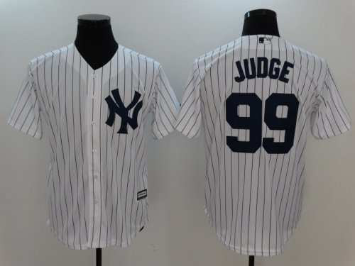newest 2656e 1e99a Men MLB New York Yankees Jersey JUDGE 99
