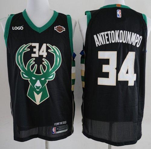 release date: bfe9b 3802d Milwaukee Bucks Antetokounmpo 34 Men Basketball Jersey Man Shirt