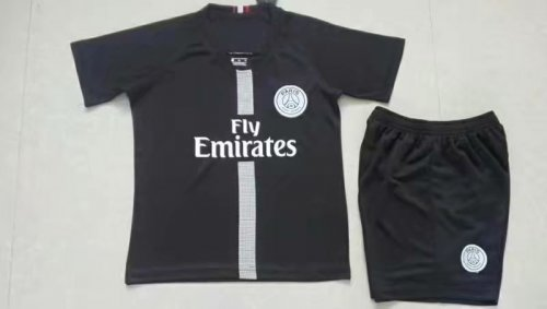 buy online 3d748 917e2 2018/19 Kids PSG Paris Soccer Jerseys Uniforms Boy Football Kits