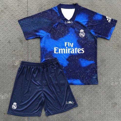 super popular a5411 d0512 2018/19 AAA Adult Real Madrid EA Sports Soccer Uniforms Men Football Kits