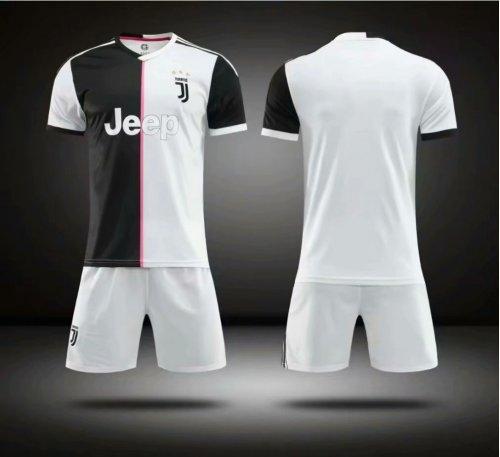 brand new 3368a 36f24 Without Logo 2019-20 Kids Juventus Soccer Jersey Uniform Football Kits