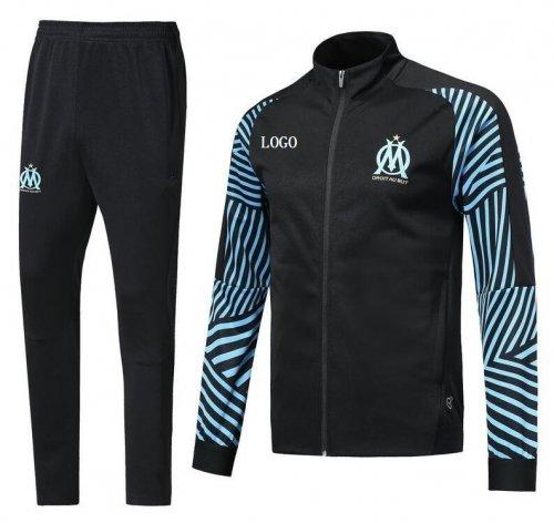 quality design e773b fc749 2018 2019 Olympique de Marseille soccer jacket tracksuit set 18 19 PAYET  L.GUSTAVO THAUVIN Marseill Maillot De Foot Football jackets (2)