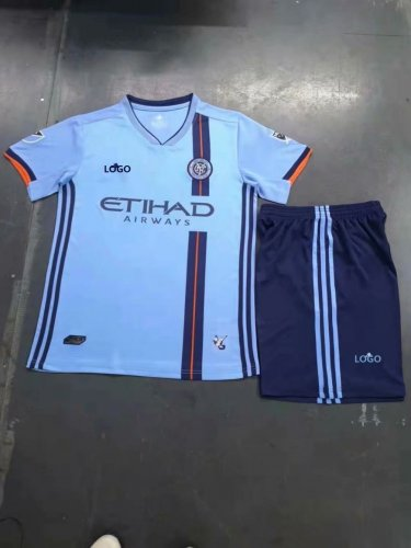new arrival 12038 30fb7 2019-20 New York City FC Home Jersey Uniforms Blue Adult Football Kits