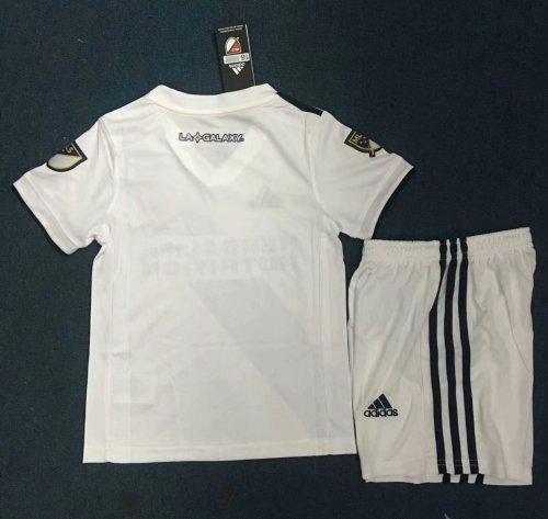 best service 78e04 b5c85 2019-20 Kids LA GALAXY Home Jersey Kits Soccer Uniforms