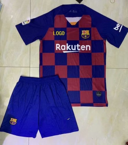 best sneakers ffd45 d5a5e 2019/20 A Quality Adult Barcelona Home Soccer Uniform Man Football Kits