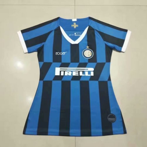 brand new 03a2b 4dc8e 2019/20 women fan version Inter Milan home soccer jersey