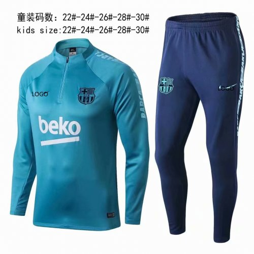 low priced f6d49 47c64 2019/20 children AAA Quality Barcelona pre-match soccer uniforms
